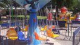 מתקן לונה פארק קרוסלת הכיסאות המעופפים